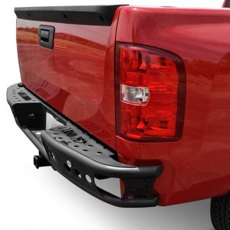 ADD® - Dimple R Full Width Black Rear Pre-runner Bumper