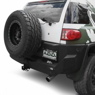 ADD® - Stealth Fighter Full Width Black Rear HD Bumper