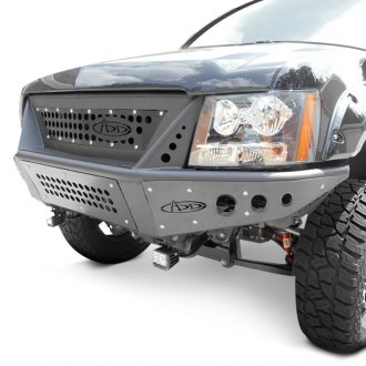 ADD® - Stealth Full Width Black Front Pre-Runner Bumper with Integrated Grille
