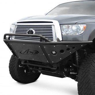 ADD® - Stealth Full Width Black Front Pre-Runner Bumper with Hoop