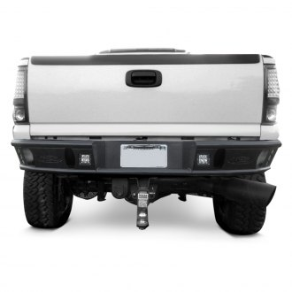 ADD® - Dimple R Full Width Black Rear Tubular Bumper