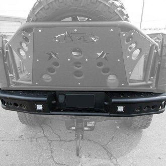 ADD® - Dimple R Full Width Rear Tubular Bumper w/o Back-up Sensor Cut Outs