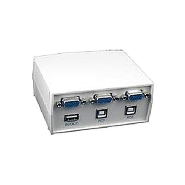 Addlogix USBMS2AB 2Port KVM Switch