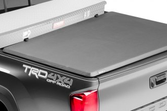 Advantage Truck Accessories® - Hard Hat™ Toolbox Tri-Fold Tonneau Cover