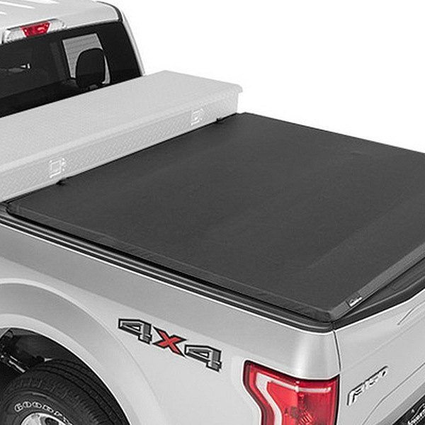 Advantage Truck Accessories® - Torza™ Toolbox Tri-Fold Tonneau Cover