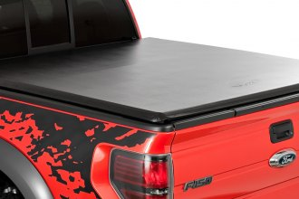 Advantage Truck Accessories® - TorzaTop™ Tri-Fold Tonneau Cover