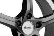 ADVANTI RACING® - 15th ANNIVERSARY Hyper Dark with Machined Undercut Close-Up