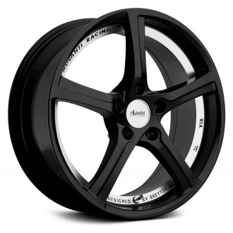ADVANTI RACING® - 15th ANNIVERSARY Matte Black with Machined Undercut