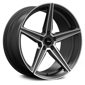 ADVANTI RACING® - CAMMINO Matte Gray with Machined Face