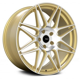 ADVANTI RACING® - CLASSE Gold with Machined Face