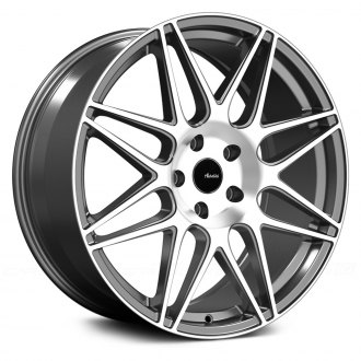ADVANTI RACING® - CLASSE Matte Gray with Machined Face