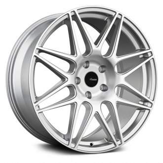 ADVANTI RACING® - CLASSE Silver with Machined Face