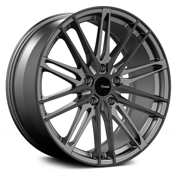 ADVANTI RACING DIVISO Wheels Matte Gunmetal With Gloss Black Face Mesmerizing 5x108 Bolt Pattern