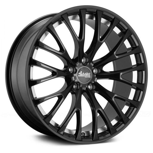 advanti racing fastoso wheels matte black with machined undercut rims fs88514455. Black Bedroom Furniture Sets. Home Design Ideas