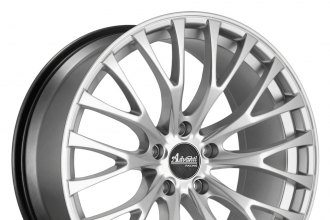"ADVANTI RACING® - FASTOSO Silver (19"" x 8.5"", +45 Offset, 5x114.3 Bolt Pattern, 73.1mm Hub)"
