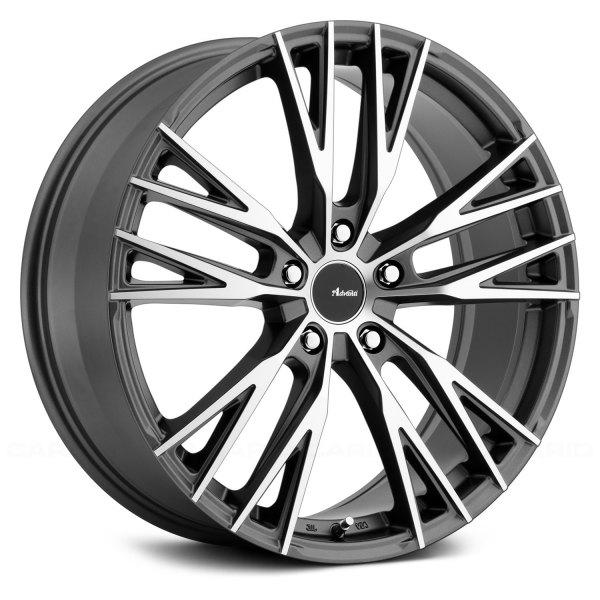 advanti racing forchette wheels matte black with. Black Bedroom Furniture Sets. Home Design Ideas