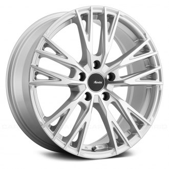 ADVANTI RACING® - FORCHETTE Silver with Machined Face