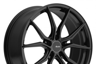 "ADVANTI RACING® - HYBRIS Gloss Black (17"" x 7.5"", +45 Offset, 5x108 Bolt Pattern, 73.1mm Hub)"