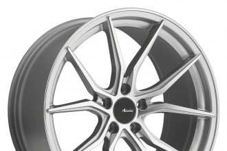 "ADVANTI RACING® - HYBRIS Silver with Machined Face (18"" x 8"", +45 Offset, 5x114.3 Bolt Pattern, 73.1mm Hub)"