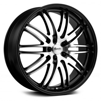 ADVANTI RACING® - PRODIGO Black with Machined Face