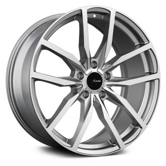 ADVANTI RACING® - RASATO Matte Gray with Machined Face