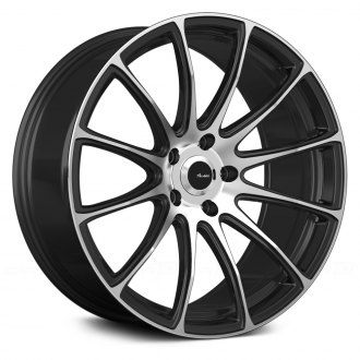 ADVANTI RACING® - SVELTO Matte Black with Machined Face