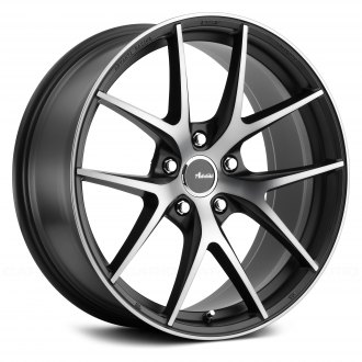 ADVANTI RACING® - VIGOROSO Matte Black with Matte Black Clear Coat