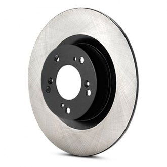 Advics® - 1-Piece Rear Brake Rotor