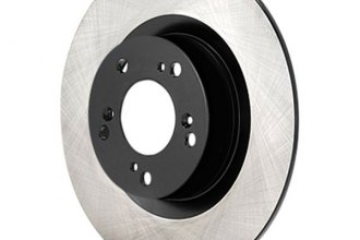 Advics® - Rear Solid Brake Rotor