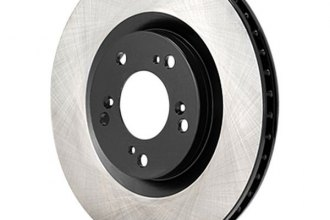 Advics® - Rear Vented Brake Rotor