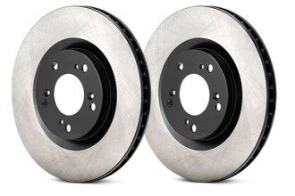 Advics® - Front Vented Brake Rotor