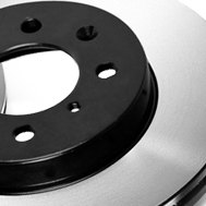 Advics® - Solid Brake Rotor
