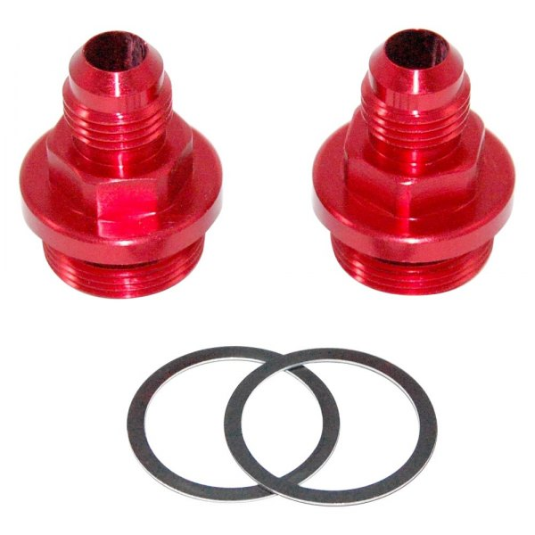 AED Performance® - 6AN Center Pivot Bowl Carburetor Fittings