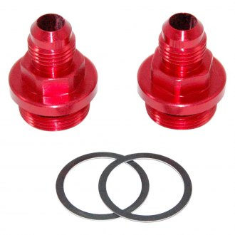 AED Performance® - -6AN Center Pivot Bowl Carburetor Fittings