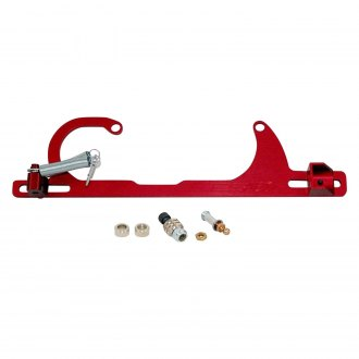 AED Performance® - Red Throttle Linkage and Spring Bracket
