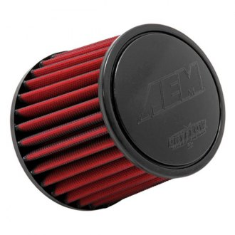 "AEM® - DryFlow Round Tapered Air Filter (5.125"" T x 5.125"" H x 1.5"" FL x 3"" F x 6"" B)"