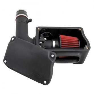 AEM® - Electronically Tuned High-Density Polyethylene Black Cold Air Intake System with Red Filter
