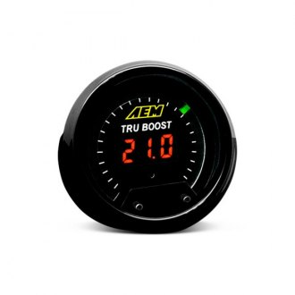 AEM® - In-Dash Black Face Digital Gauges