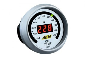 AEM® - Oil / Transmission / Water Temperature Gauge