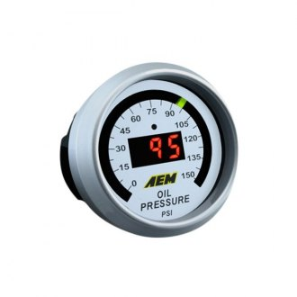AEM® - Digital Oil Pressure Gauge