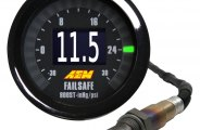 AEM� - Wideband Air / Fuel and Boost FAILSAFE Gauge
