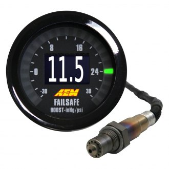 AEM® - Wideband Air/Fuel and Boost FAILSAFE Gauge