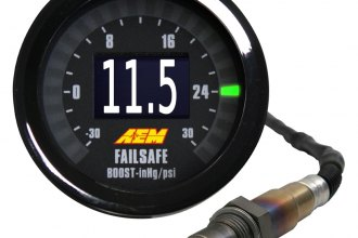 AEM® - Wideband Air / Fuel and Boost FAILSAFE Gauge