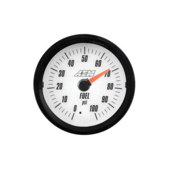 AEM® - Analog Oil/Fuel Pressure Gauges
