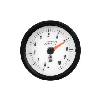 AEM® - Analog Oil Pressure Gauges