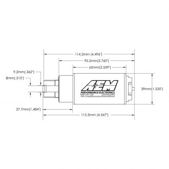 AEM® - High Flow In-Tank Fuel Pump