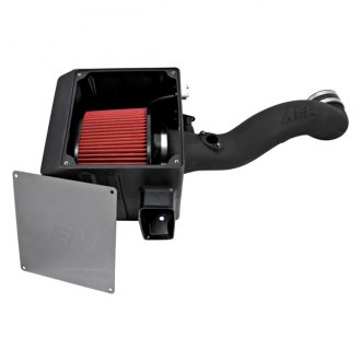 AEM® - Brute Force HD™ Diesel High-Density Polyethylene Black Cold Air Intake System with Red Filter