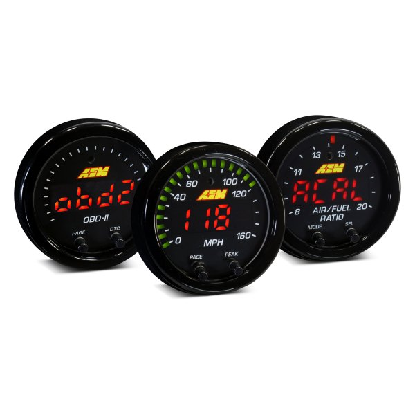 "AEM 30-0307 X-Series 150 PSI 10 BAR Oil Pressure Gauge 2-1//16/"" 52mm"