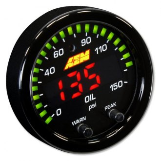AEM® - X-Series Oil Pressure Gauge Kit
