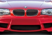 Aero Function® - AF-1 Style Fiberglass Front Bumper Cover (Unpainted)